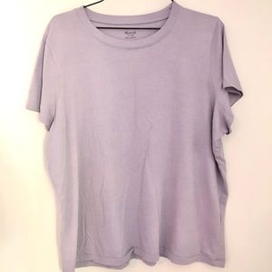 Madewell lavender T-shirt